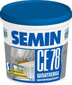 Шпатлевка Semin CE78(синяя крышка), 7кг