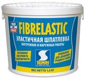 Шпатлевка ФИБР ЭЛАСТИК, 1,5кг(эластичная усиленная фиброволокном)